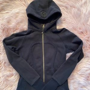 Lululemon Scuba Hoodie Size 4 Black